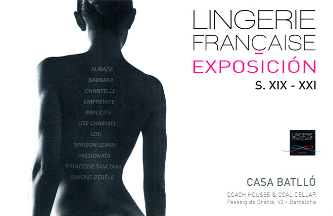 Read more about Come and experience the French lingerie over the past 100 years in Casa Batlló. From December 2nd to 9th