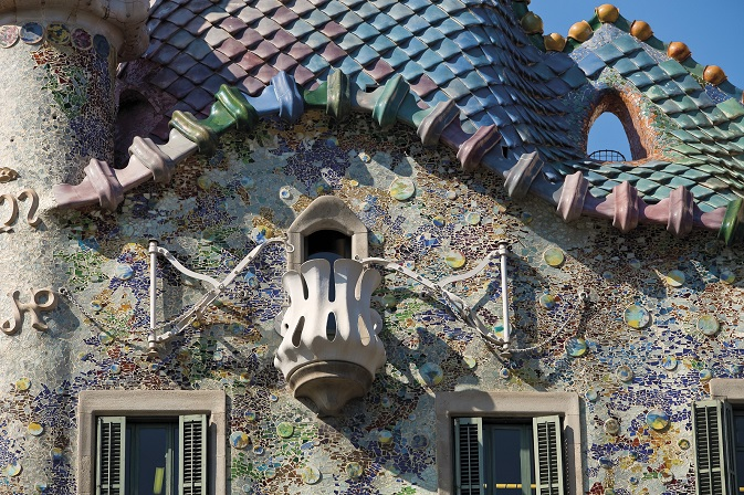 Read more about The magic of color in Gaudi´s work.