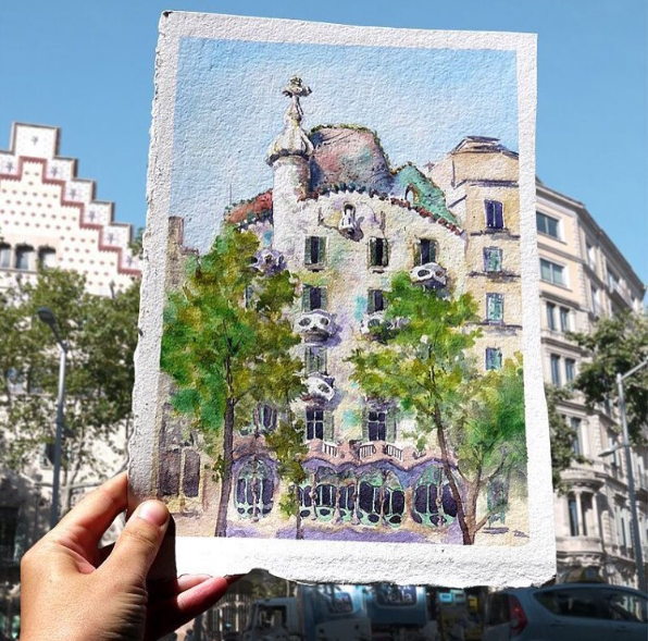 Read more about Casa Batlló celebrates the World Watercolour Day!